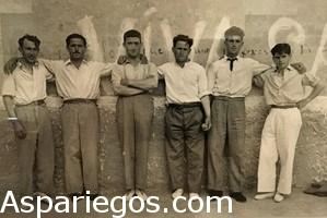 Pelotaris de Aspariegos
